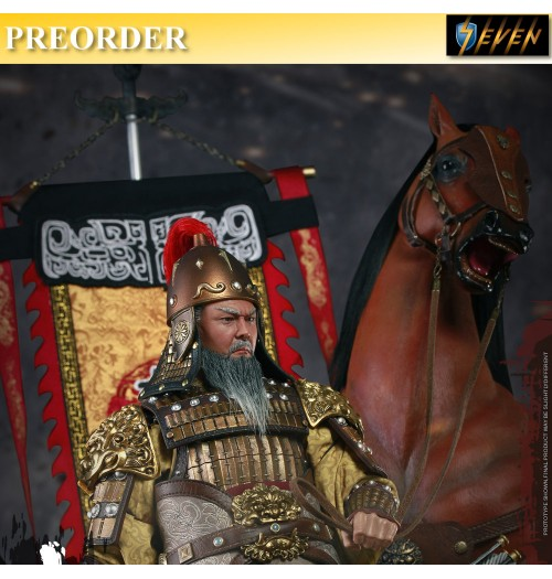 PREORDER: 303Toys 1/6 Three Kingdom Huang Zhong Full Set (Figure, Horse & Flag)