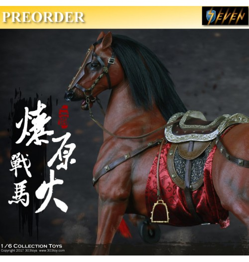 PREORDER: 303Toys 1/6 Three Kingdom Huang Zhong - Prairie Fire The Steed (Horse)