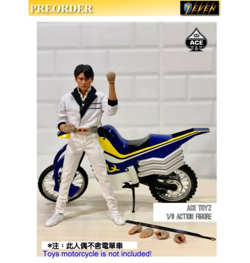 PREORDER: ACE TOYZ 1/6 The Classic Mighty Super Hero: Mr Kurata: Boxset