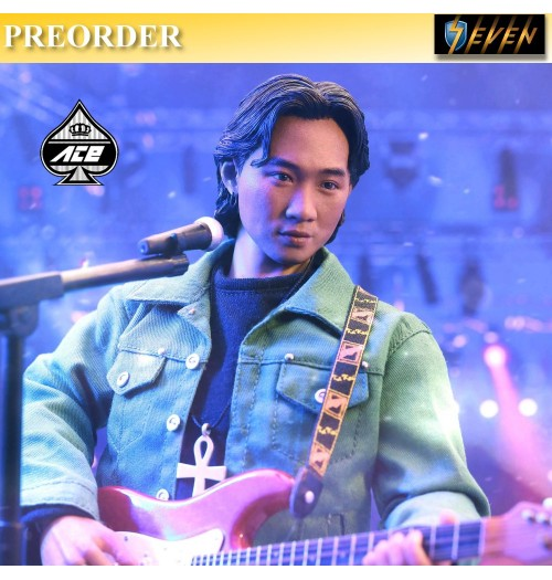PREORDER: ACE TOYZ 1/6 Guitarist Series: Rock & Roll Star