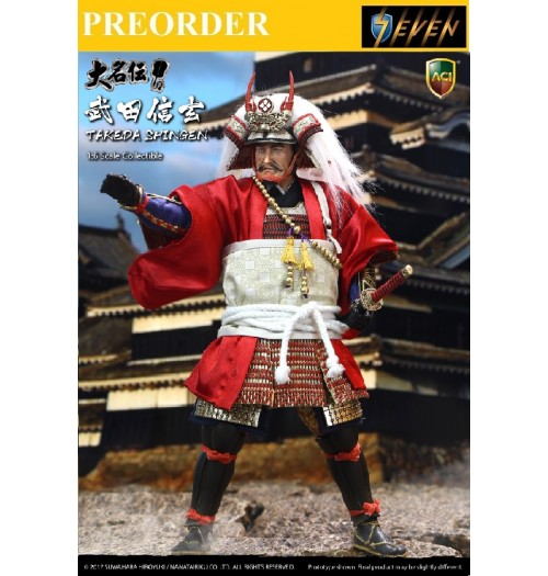 PREORDER: ACI Toys x Suwahara: Takeda Shingen(Normal Version)