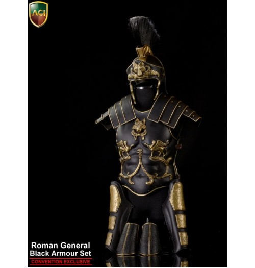 ACI Toys 1/6 Roman General Black Armour Set (Convention Exclusive)