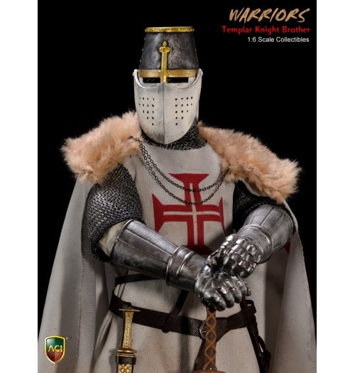 ACI TOYS Crusader Templar Knight Brother (ACI24A)