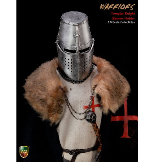 ACI TOYS Crusader Templar Knight Banner Holder (ACI24C)