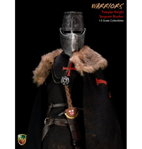 ACI TOYS Crusader Templar Knight Sergeant Brother (ACI24D)