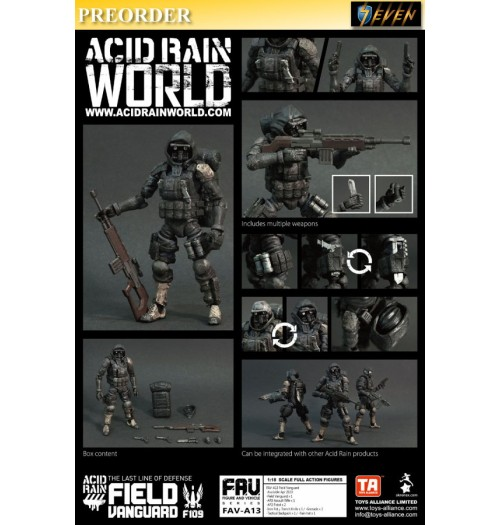 PREORDER: Toys Alliance Acid Rain 1/18 FAV-A13 Field Vanguard: Set