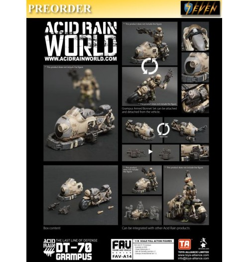 PREORDER: Toys Alliance Acid Rain 1/18 FAV-A14 DT-70 Grampus: Set