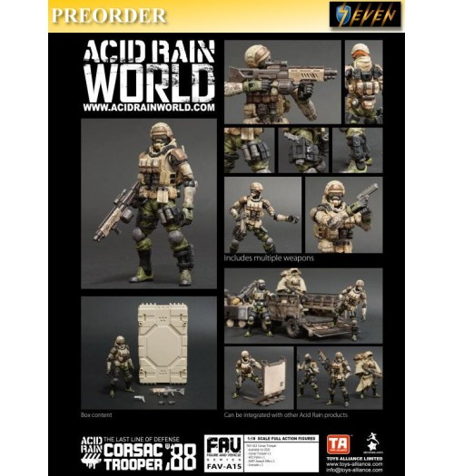 PREORDER: Toys Alliance Acid Rain 1/18 FAV-A15 Corsac Trooper: Set