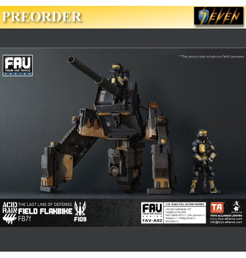 PREORDER: Toys Alliance 1/18 Acid Rain FAV02 Field Flakbike FB7f