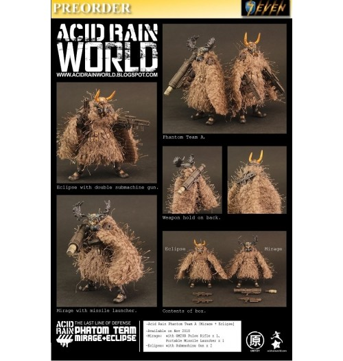 PREORDER: ORI TOY Acid Rain World: Phantom Team A [Mirage + Eclipse]