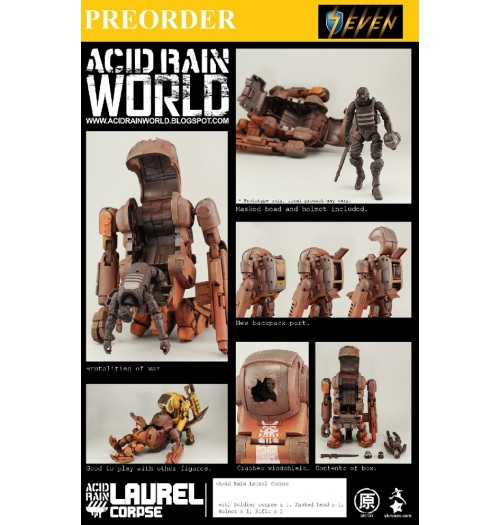 PREORDER: Oritoys Acid Rain: Laurel Corpse with Soldier Corpse