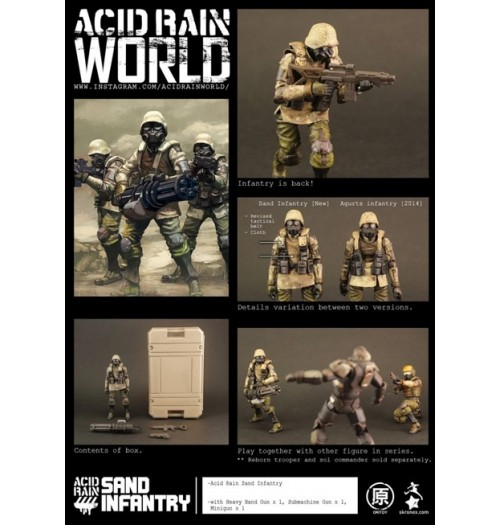 ORI TOY Acid Rain: Sand Infantry