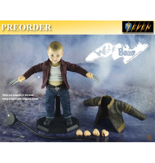 PREORDER: ADD TOYS 1/6 Wolf baby: Box Set