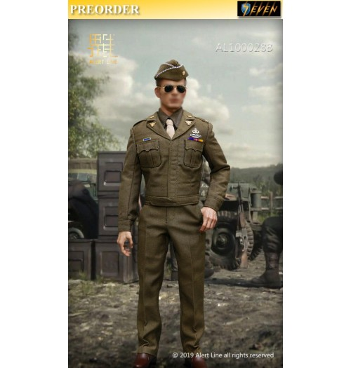 PREORDER: Alert Line 1/6 WWII U.S.Army Officer Uniform Suit: Set B
