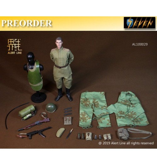 PREORDER: Alert Line 1/6 WWII Soviet Red Army Combat Engineer: Boxset