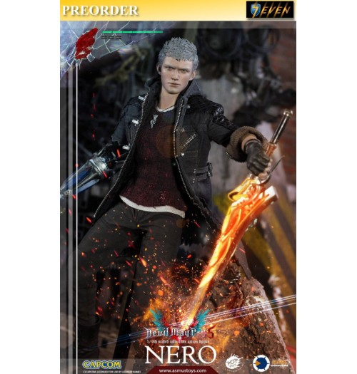 PREORDER: Asmus Toys 1/6 Devil May Cry 5 - Nero: Boxset