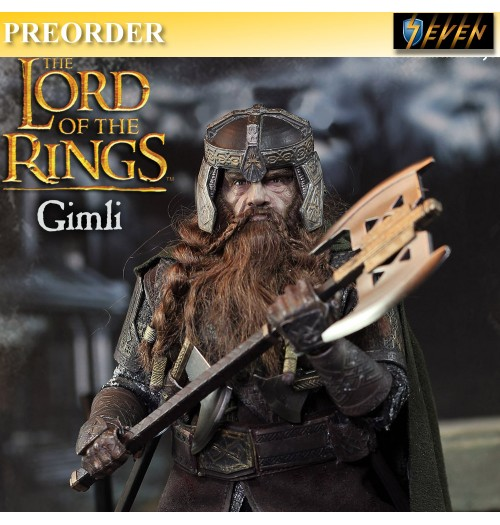 PREORDER: Asmus Toys 1/6 Lord of the Rings - Gimli