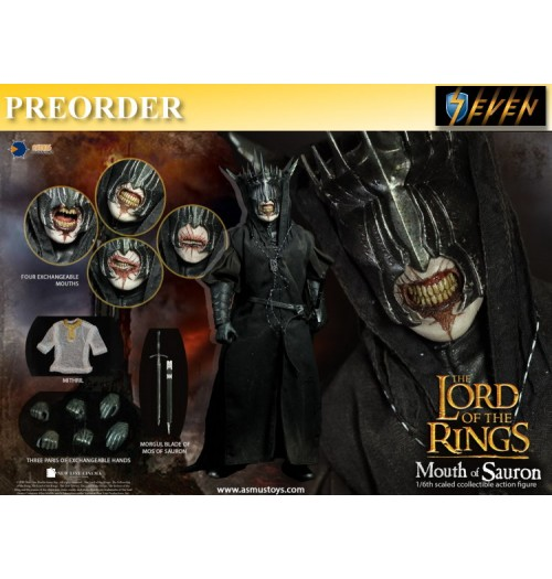 PREORDER: Asmus Toys 1/6 The Mouth of Sauron: Boxset