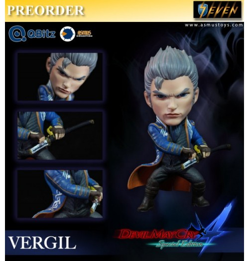 PREORDER: Asmus Toys 4 inches Qbitz Devil May Cry - Vergil: Figure