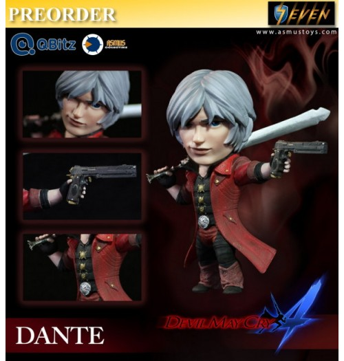 PREORDER: Asmus Toys 4 inches Qbitz Devil May Cry - Dante: Figure