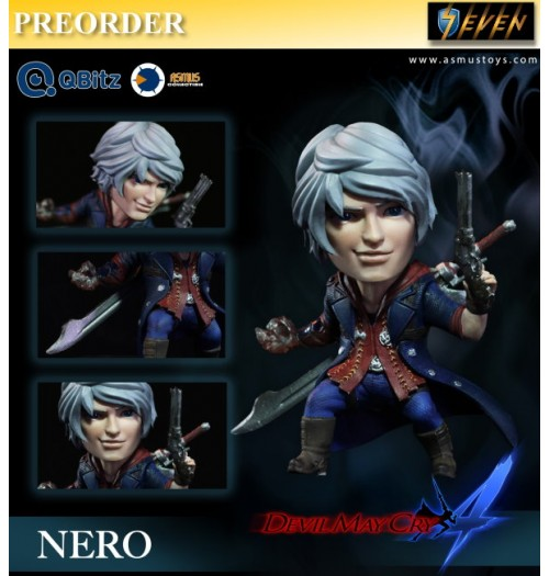 PREORDER: Asmus Toys 4 inches Qbitz Devil May Cry 4 - Nero: Limited Figure