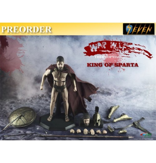 PREORDER: By-Art 1/12 King of Sparta: Boxset