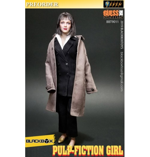 PREORDER: Black Box 1/6 Pulp Fiction Girl: Boxset
