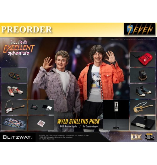 PREORDER: Blitzway 1/6 Bill And Ted Excellent Adventure 1989: Boxset