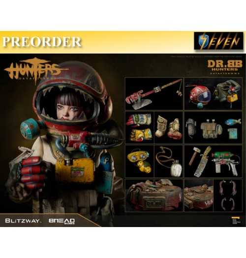 PREORDER: Blitzway 1/6 HUNTERS : Day After WWlll - Dr.BB: Boxset