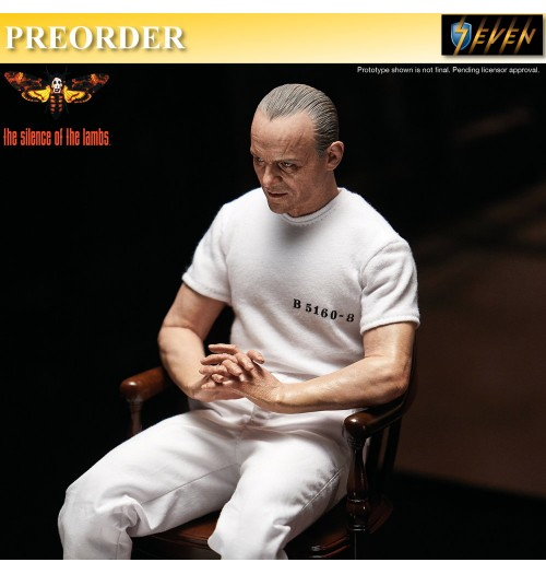 PREORDER: Blitzway 1/6 Silence of Lamb: Hannibal (White Prisoner Version)