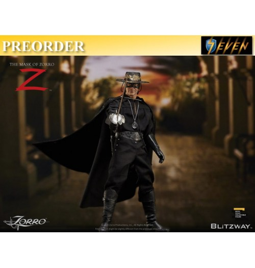 PREORDER: Blitzway 1/6 The Mask of Zorro 1998: Boxset