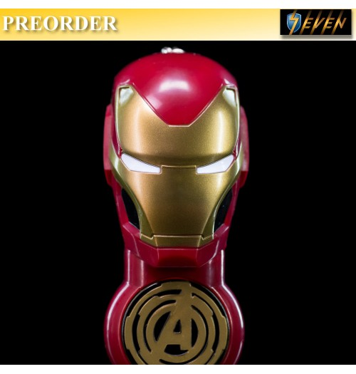 Preorder: Camino - Iron Man Head LED Keychain
