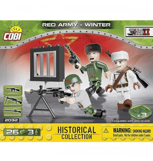 Cobi: WWII 2032 Red Army Winter