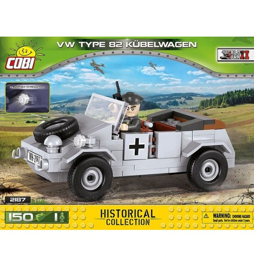 Cobi: Small Army 2187 VW Type 82 Kubelwagen (150pcs)