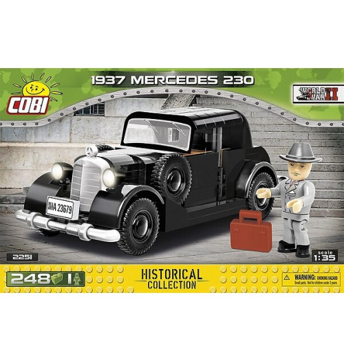 Cobi: WWII Historical Collection 2251 1937 MERCEDES 230 (248pcs)