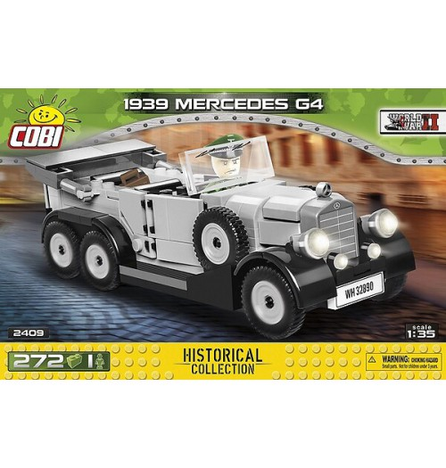 Cobi: WWII Historical Collection 2409 1939 Mercedes G4 (272pcs)