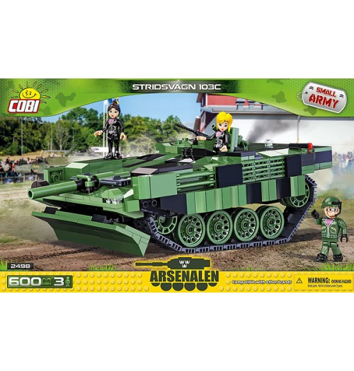 Cobi: Small Army 2498 Stridsvagn 103C (600pcs)
