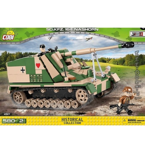 Cobi: Small Army 2517 Sd.Kfz.164 Nashorn (580pcs)