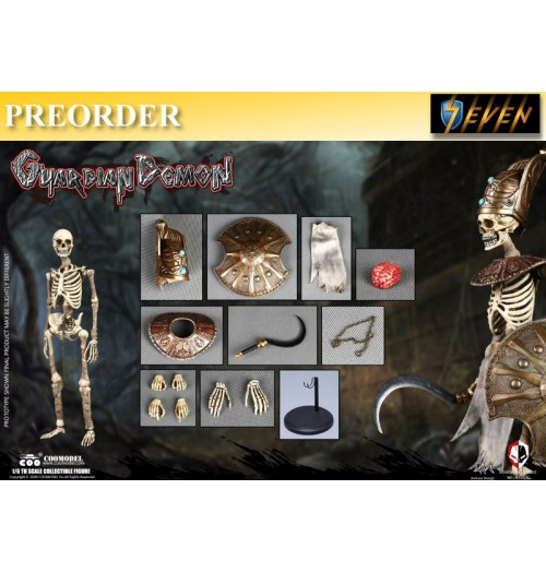 PREORDER: Coo Model 1/6 NS006 Nightmare Series: Egypt - Guardian Demon: Boxset