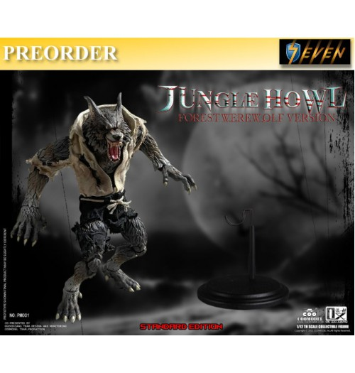 PREORDER: COO Model x OuXhiZhiang 1/12 PM001 Palmtop Monsters - Jungle Howl (Forest Werewolf): Standard Boxset