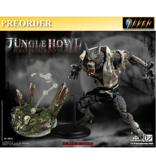 PREORDER: COO Model x OuXhiZhiang 1/12 PM002 Palmtop Monsters - Jungle Howl (Forest Werewolf): Deluxe Boxset
