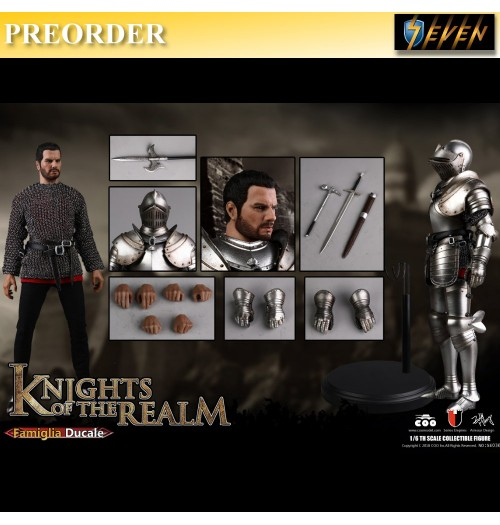 PREORDER: Coo Model 1/6 Diecast Knights of the Realm - Famiglia Ducale