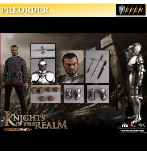 PREORDER: Coo Model 1/6 Diecast Knights of the Realm - Kingsguard