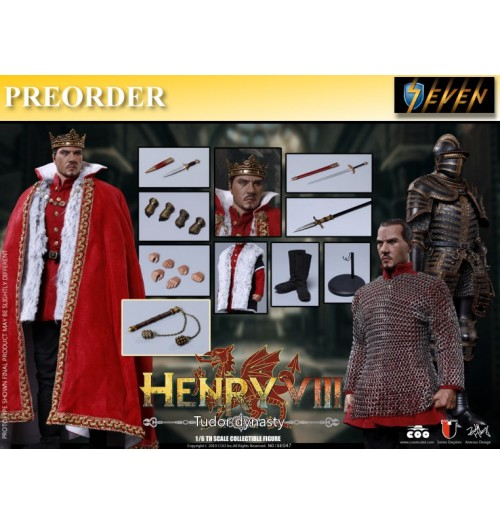PREORDER: Coo Model 1/6 Henry VIII (Tudor Dynasty Version): Boxset