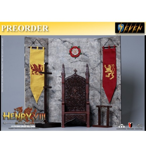 PREORDER: Coo Model 1/6 Henry VIII (Wolf Hall Version): Display Stand