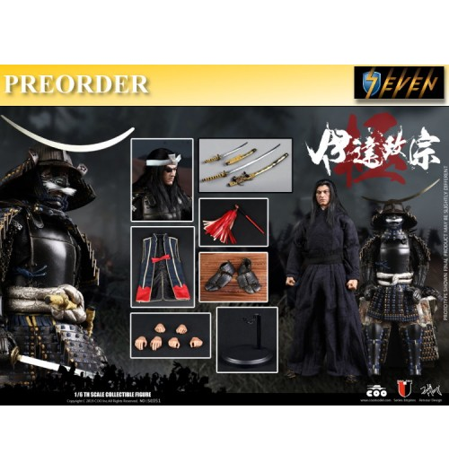 PREORDER: Coo Model 1/6 Series of Empires: Date Masamune (Masterpiece Version): Boxset