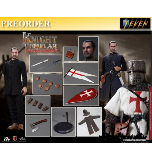PREORDER: Coo Model 1/6 SE056 Diecast Bachelor of Knights Templar: Boxset