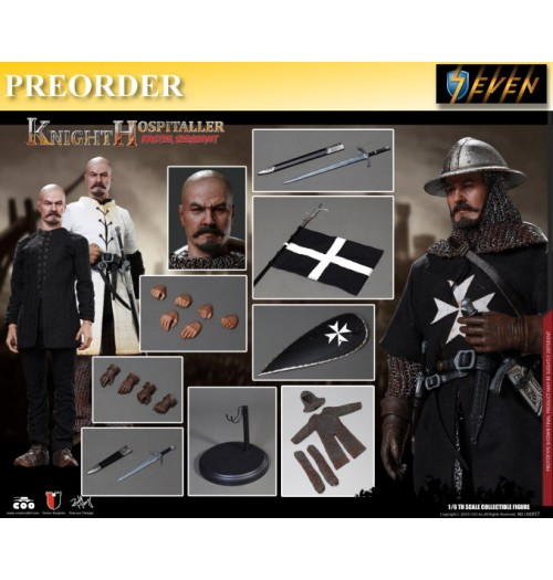 PREORDER: Coo Model 1/6 SE057 Diecast Sergeant of Knights Hospitaller: Boxset