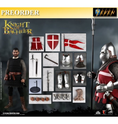 PREORDER: Coo Model 1/6 SE067 Knight of Bachelor: Boxset