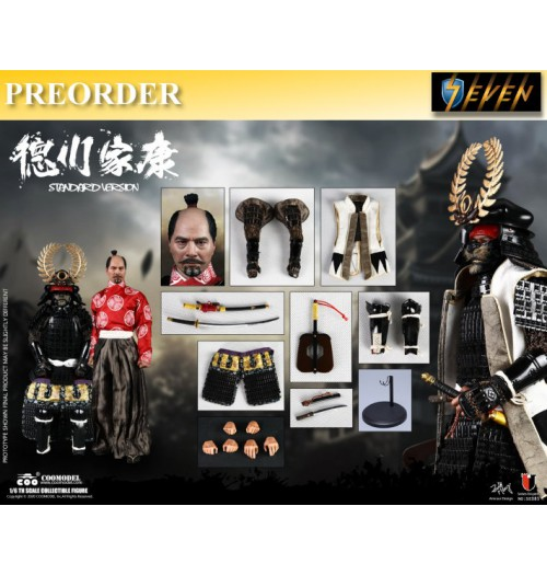 PREORDER: Coo Model 1/6 SE085 Series of Empires - Shogun Tokugawa Ieyasu Normal Version: Boxset